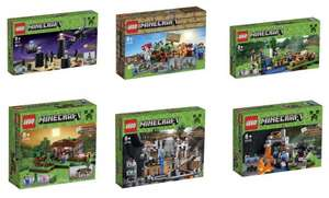 6 New Lego Minecraft Sets 3 for 2 At Argos From Wednesday