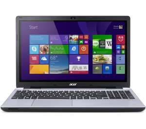 "ACER Aspire V3-572PG 15.6"" Touchscreen Laptop with 2gb nvidia GT840m graphics card and 1 TB hard disk - Silver £579.99 @ PC World"