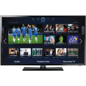 Samsung UE40F5300 40 Inch Full HD Freeview HD Smart LED TV 25% off £299.99 or £308.99 with Now TV + 3 months Entertainmnt pass @ Argos