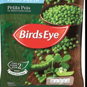 Birds eye frozen peas 545g £1 ( can claim 50p from my supermarket per pack - max 2 packs so could get 1kg for £1 . Morrisons