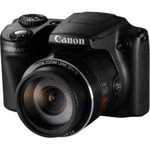 Canon PowerShot SX510 12MP Bridge Camera £129.99 (effectively £113.49 after voucher & cashback) @ Argos