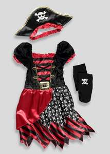 Girls pirate costume £6 @ Matalan