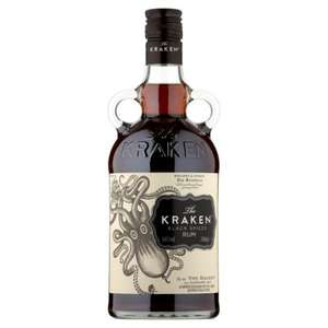 Kraken Black Spiced Rum 70cl (in-store and online) £18 @ Morrisons