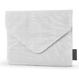 "Acme Wallet White Tablet iPad PU Leather 1/ 2/ 3/ 4/ Air/ Retina/ Mini Sleeve Case Pouch 7"" 8"" 9"" 9.7"" inch - Samsung Galaxy, Sony, Dell - Sold by Electro Tycoon and Fulfilled by Amazon.   (add on item / £10 spend)"