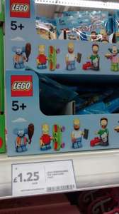 Lego Minifigures Series 11 and Lego Simpsons Minifigures £1.25 @ Tesco In-store