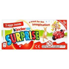 Kinder surprise 3 pack @ Asda £1.25