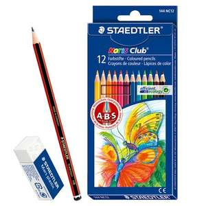 Staedtler Noris Club Colouring Pencil Bonus Pack £1.99 + £1.50 P&P @ Cult Pens