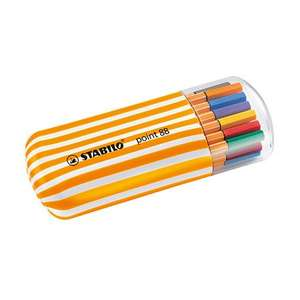 STABILO Point 88 Fineliner Zebrui Set of 20 £12.60 free delivery @ Cult Pens