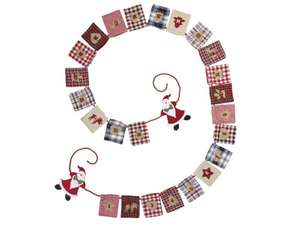 fabric garland Advent Calendars @ LIDL £4.99