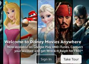 Free Wreck it Ralph  when you connect your Disney Movies Anywhere account to Google Play.