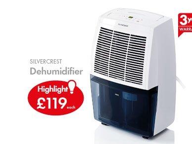 20ltr Dehumidifier £119 @ Lidl