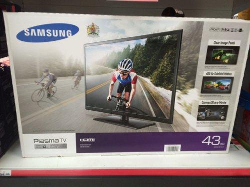 Samsung 43 inch Plasma TV £269 @ Asda
