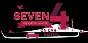 Car Hire - 7 days for price of 4 from £100 @ Arnold Clark
