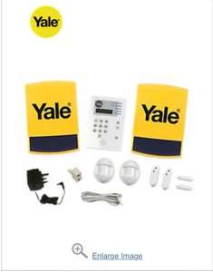 Free key fob (worth £14.99) when you buy the Yale wireless 4 room alarm kit £159.99 @ Screwfix