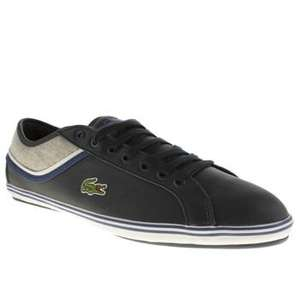 Mens Lacoste Navy & Grey Cairon Trainers £35 @ Branch 309