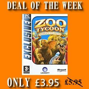 ZOO TYCOON COMPLETE COLLECTION ONLY £3.95 THIS WEEK ONLY! @ 4GamersUK