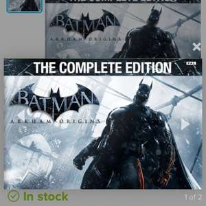 Batman Arkham Origins - Complete Edition £13 Xbox 360 @ coolshop