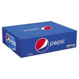 Pepsi /max/diet Cans 30x330ml £6 @ Asda