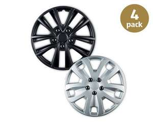 "Set of 4 car wheel trims, 14"" 15"" or 16"" Aldi 9th Nov £8.99"