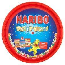 Haribo, ,Celebrations, Heroes, Roses, Swizzelshop Sweet Tubs  & Quality Street £4.00 @ Asda.