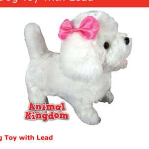 Walking dog toy with lead Home bargains £7.99 in store & online