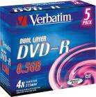 Verbatim Dual Layer DVD-R 5 Pack   BOGOF = 10 disks for £9.99