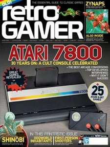 1/2 price 12 month magazine subscriptions includes RETRO GAMER £24.99 @ Subscribe Online