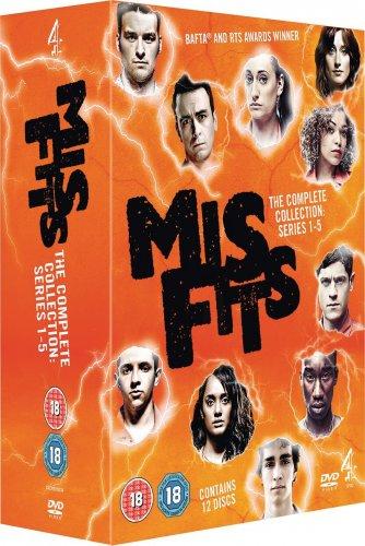 Amazon Misfits: Series 1-5 [DVD] £19.99 @ Amazon