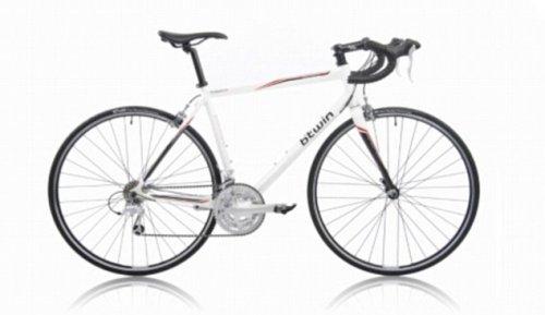 Decathlon White Triban 5 51cm road bike - £299.99