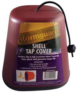 Stormguard Outside Tap Cover -  Insulator Against Freezing - Polystyrene + PVC Shell £5 Instore @ B&Q