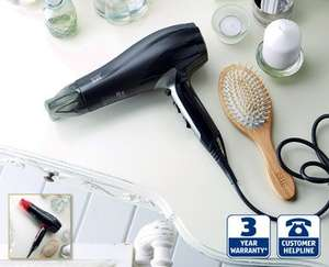2000W Ionic Hairdryer £9.99 at ALDI