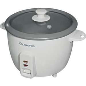 Cookworks RC-8R 1.5L Rice Cooker - White £11.99 @ Argos