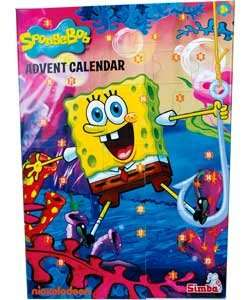 spongebob advent calendar now £4.99 at Argos