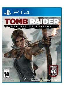 Tomb Raider: Definitive Edition (PS4) £19.99 @ PSN