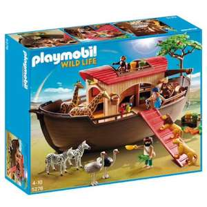 Playmobil Wild Life 5276 Noah's Ark £25.43 on Amazon