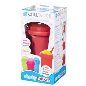 Chill factor squeeze cup slushy maker £7.26 reduced from £12.99 at Amazon