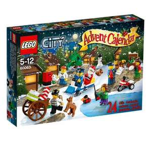 Lego City Advent Calendar 60063 £14.97 @ Asda Direct