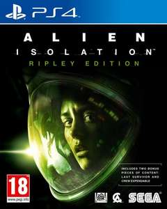 Alien: Isolation Ripley/Nostromo Edition (PS4/Xbox One) £24.99 (PS3/360) £19.99 Season Pass (PS3/4) £9.99 @ GAME (PS3/PS4/Xbox One @ Amazon too)