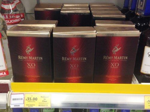 Remy Martin XO Excellence Fine Cognac 35cl, Half Price Instore Tesco BOD Aberdeen £35