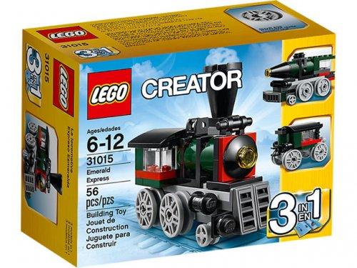 LEGO Creator Emerald Express 31015 £3 @ Netto
