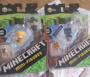 minecraft mini figures - £3.49 instore @ Asda