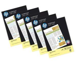** HP Everyday A4 Paper, 5 Reams - 2500 sheets now £2.79 @ Currys/PC World **