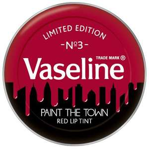 Vaseline limited edition paint the town 91p at Asda