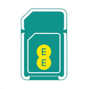 Back in Stock! EE PAYG sim with £5 credit and 100MB free data every month for life - £1 (free delivery) @ Ebay (ee-uk-shop), Amazon (EE Direct) and Rakuten (ChitterChatter)