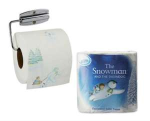 """The Snow Man"" toilet paper 4 rolls £1.49 @ Aldi"