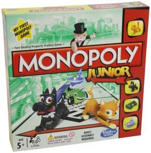 Monopoly Junior £9 at Tesco Direct and Toys R Us