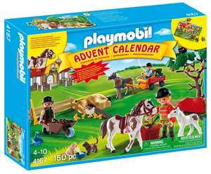 Playmobil advent calendar pony ranch- £13.07 at Amazon