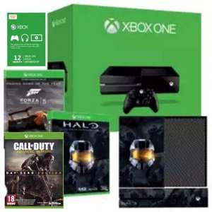Xbox One + Halo:MCC + Halo Skin + Forza 5 GOTY download + Call of Duty: Advanced Warfare + 12 Months XBL ONLY £369.99 @ Game instore