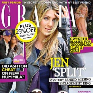 Free copy of Grazia Magazine