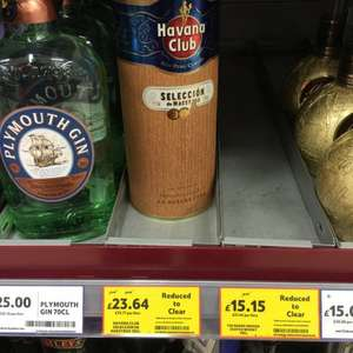 Havana Club Rum Seleccion De Maestros £23.64 Tesco Sutton